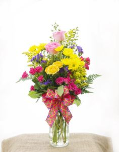Flowers are like friends, they bring color to your world.