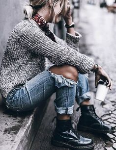 Typical-Boho-Winter-Outfits