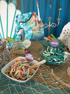 Mermaid candy bar