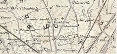Map - around 1850