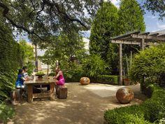 Image result for hotel san jose austin landscape design Hotel San Jose Austin, Lake Flato, Shed Roof, Outdoor Furniture Sets, Outdoor Decor, Affordable Housing, Architecture Details, Landscape Design, Real Estate
