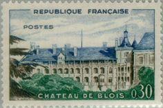 Sello: Blois Castle (Francia) (Tourism) Yt:FR 1255,Mi:FR 1306