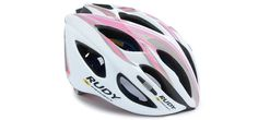 Rudy Project Cycling Helmet - SLINGER WHITE / PINK / SILVER HELMET LARGE