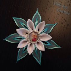 Elsa and Anna Frozen Inspired Hair Clip by DidiArtCorner on Etsy