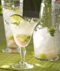 RECIPE: Lime & Lychee Cocktail - The West Australian