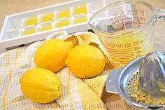 Great tips for the kitchen such as storing lemon juice, keeping brown sugar fresh, keeping herbs longer...etc!