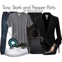 Tony Stark and Pepper Potts by bethanybrooks