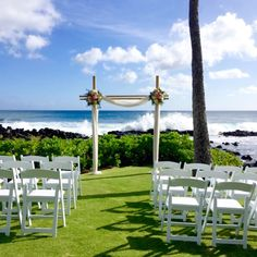 Our Ocean Point makes the case for an intimate ocean-side wedding in Hawaii.