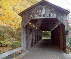 C.R. Phillips Covered Bridge - Ohio                                                                                                                                                                                 More