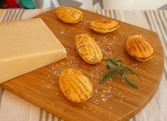 Cheese Madeleine with Rosemary