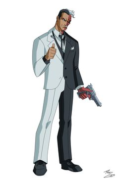 Two-face by phil-cho.deviantart.com on @deviantART