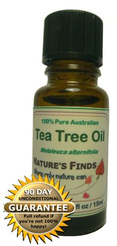 Antifungal, Antibacterial and Antiseptic. Fantastic for acne, warts, boils, head lice, thrush, dandruff, fungal toe nails and skin tags. Take it camping, fishing or travelling.