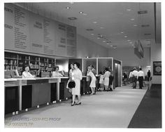 Library/USA Exhibit at the 1964-5 New York World's Fair