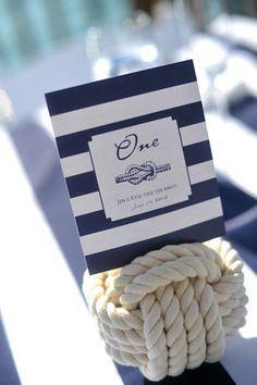 Nautical Wedding Place Card    Nautical Wedding Ideas   Nautical Wedding Inspiration   Nautical Wedding Favors   Personalized Wedding   www.EventDazzle.com