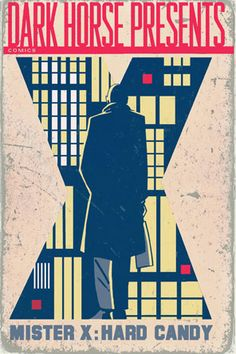 """Dean Motter's city of """"psychotecture"""" melded Art Deco, Modernism, and Film Noir."""
