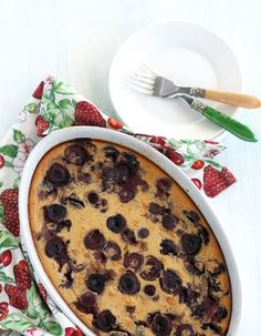 Gluten-Free Goddess® Recipes: Gluten-Free Cherry Clafoutis