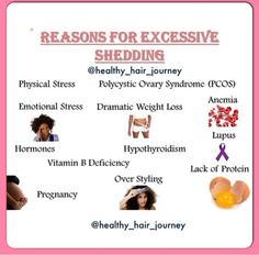 Reasons For Excessive Shedding