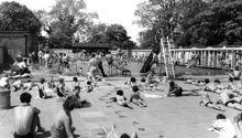 The Swimming Pool c1955 Ref: E167316