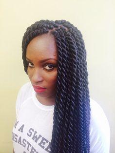 Senegalese Twist - Sunu Hair Braiding Atlanta