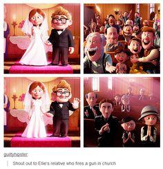 Disney Up ~ Shout out. Disney Pixar, Disney Jokes, Funny Disney Memes, Disney Facts, Disney Marvel, Disney Fun, Disney And Dreamworks, Disney Animation, Disney Cartoons