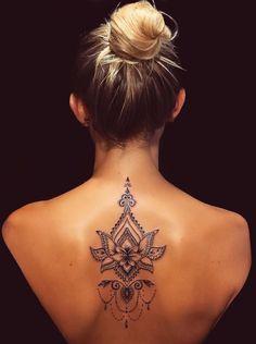 Tattoos 50 of the Most Beautiful Mandala Tattoo Designs for Your Body & Soul - Geheimn. 50 of the Most Beautiful Mandala Tattoo Designs for Your Body & Soul - Geheimnisvoll - Lotusblume Tattoo, Tattoo Trend, Wrist Tattoos, Cute Tattoos, Beautiful Tattoos, Body Art Tattoos, Beautiful Body, Flower Tattoos, Tattoo Spine