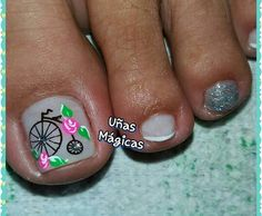 Pedicure Colors, Mani Pedi, Manicure And Pedicure, Toe Nail Art, Acrylic Nails, Cute Pedicures, La Nails, Magic Nails, Toe Nail Designs