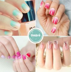 ombre wedding nail designs / http://www.deerpearlflowers.com/wedding-nails-you-must-see/