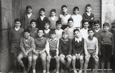 Don Pablo ikastegiko ikasle taldea / Grupo de alumnos de la Academia Don Pablo, Algorta. (ref. 03124)