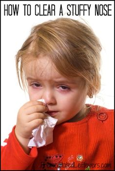 Natural Ways to Clear a Stuffy Nose