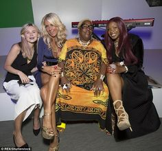 On Friday, Sandra and Sandi joined Celia Sawyer, second left, at the C4 launch of the Paralympic Games in London - 15.07.2016