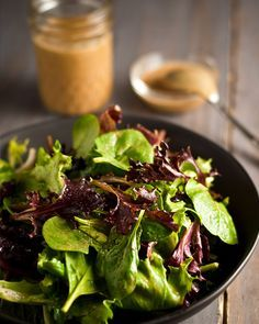 Note to Anna:  BE SURE TO TRY THIS!  Engine 2 Diet Oil-Free Dressing -- sounds delicious 00 nooch, maple syrup, balsamic and apple cider vinegars,  Dijon and more.
