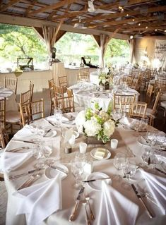 DIY Rustic Summer Wedding ⋆ Ruffled - Burlap square in the center of round tables, and burlap runners on farm tables…. Wedding Table Linens, Rustic Wedding Reception, Wedding Table Flowers, Wedding Table Settings, Wedding Reception Decorations, Wedding Centerpieces, Table Decorations, Lilac Wedding, Summer Wedding