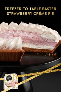 Nutrition Energy: 373 kcal / 1559 kJ Fat: 22 g Protein: 4 g Carbs: 43 g Cooking Time Preparation: 10 min Cooking: 1 min Ready in: 11 min Strawberry Creme Pie, Strawberry Recipes, Butter Pie, Peanut Butter, Delicious Desserts, Dessert Recipes, Big Wedding Cakes, Filipino Desserts, Oreo Cheesecake