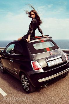 2012 Fiat 500 Cabriolet by Gucci ...need this car and a matching purse to go with! I worry about where to stick the three car seats later!