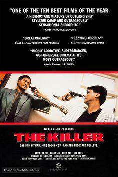 Dip huet seung hung (The killer), 1989 - USA poster