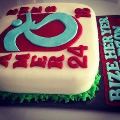 Trabzonspor cake Made by Gulcan