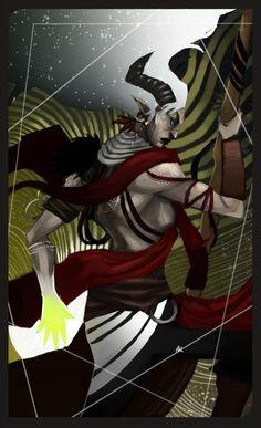 DA таро,Dragon Age,фэндомы,Инквизитор (DA),DA персонажи,Dragon Age Inquisition,длиннопост,Кунари