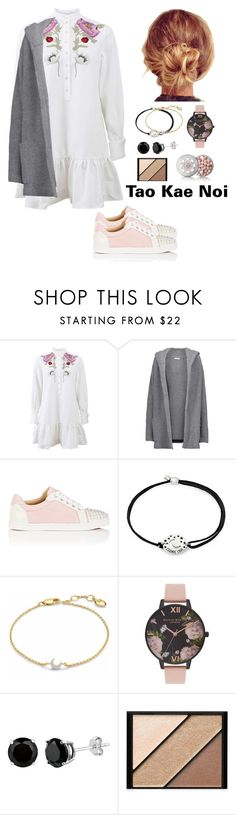 """""""Untitled #445"""" by wang852g7 ❤ liked on Polyvore featuring beauty, Alexander McQueen, Chinti and Parker, Christian Louboutin, Alex and Ani, Missoma, Olivia Burton, Elizabeth Arden and Guerlain"""