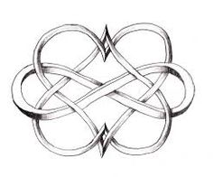 I love you infinity ~ represents my two kids.
