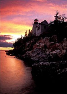 Bass Harbor Light, Acadia, ME