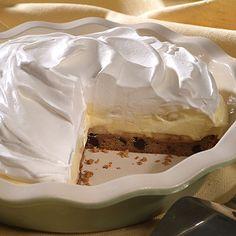 Extreme Banana Cream Pie (Easy; 6 servings) #bananacream #pie #dessert