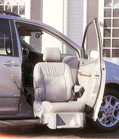 CAR AIDS | Bruno Seat Lift ~We could have taken my mom for rides if we'd had that.
