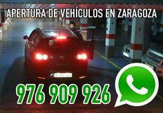 Cerrajeros especialistas en apertura de coches en Zaragoza