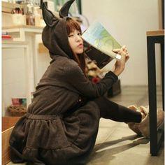 Chaqueta conejo / rabbit hoodie wh234