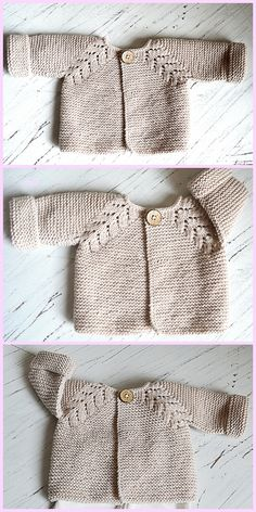 96e02317a90f Lovely Knit Top Down Cardigan Baby Sweater