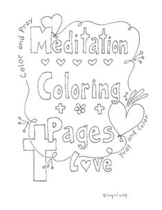 Beautiful coloring pages for adults and children! A great way to pray - meditate about the bible verse while coloring. Would make a great bulletin display. Could be used for a Valentine's Day prayer service.