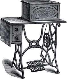 Antique Sewing Machine Picture