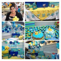 rubber duck baby shower #babyshower #babyshowerideas #babyshowerdecorations