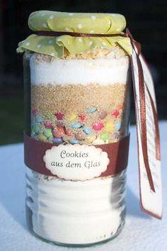 Kreative Ideen rund ums Basteln, Scrapbooking , Kochen und Backen: Cookies im Glas