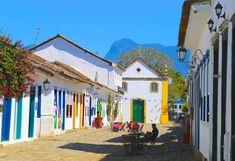 O que fazer em Paraty  RJ Brazil, Street View, Maria Clara, Portugal, School Holidays, Colonial Architecture, Blue Lagoon, Diamonds, Boots